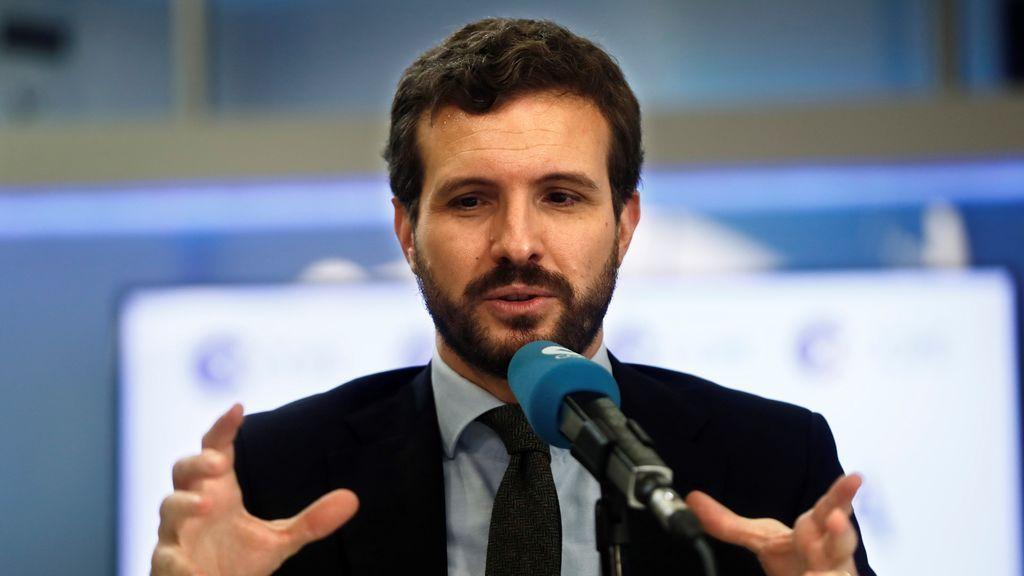 """Casado, sobre la participación de Podemos en la marcha por los presos de ETA: """"Un nuevo escarnio para las víctimas"""""""