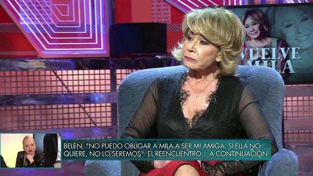 Mila Ximénez sentencia a Belén Esteban