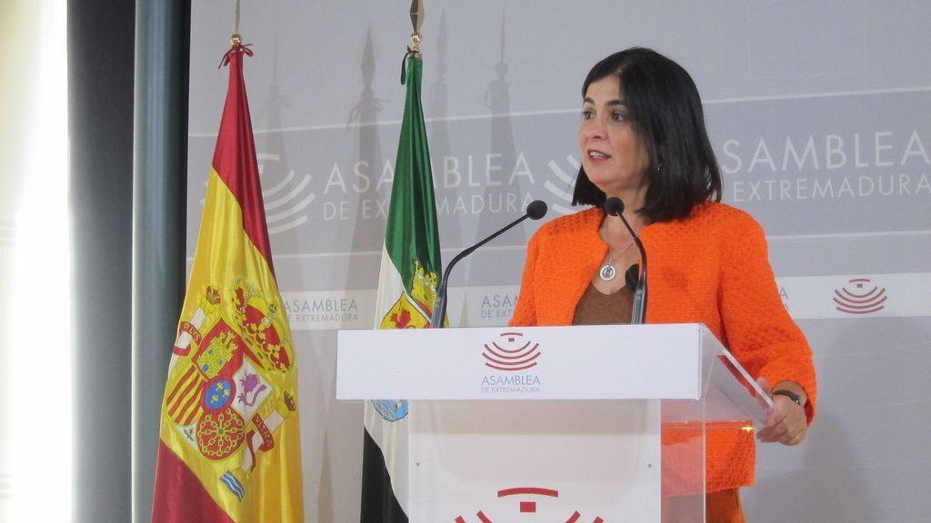 Carolina Darías, ministra de Política Territorial y Función Pública