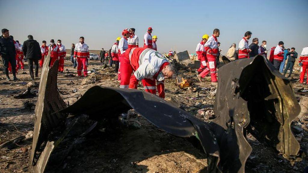 """Confusión con un misil crucero: el """"error humano"""" que explica Irán sobre el derrumbe del avión ucraniano"""