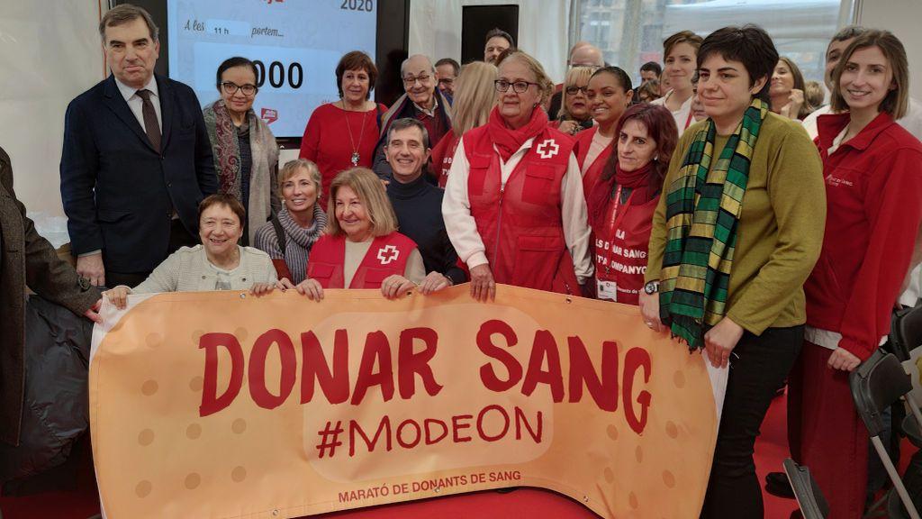 La Maratón de Donantes de Sangre en Cataluña arranca con buenos números