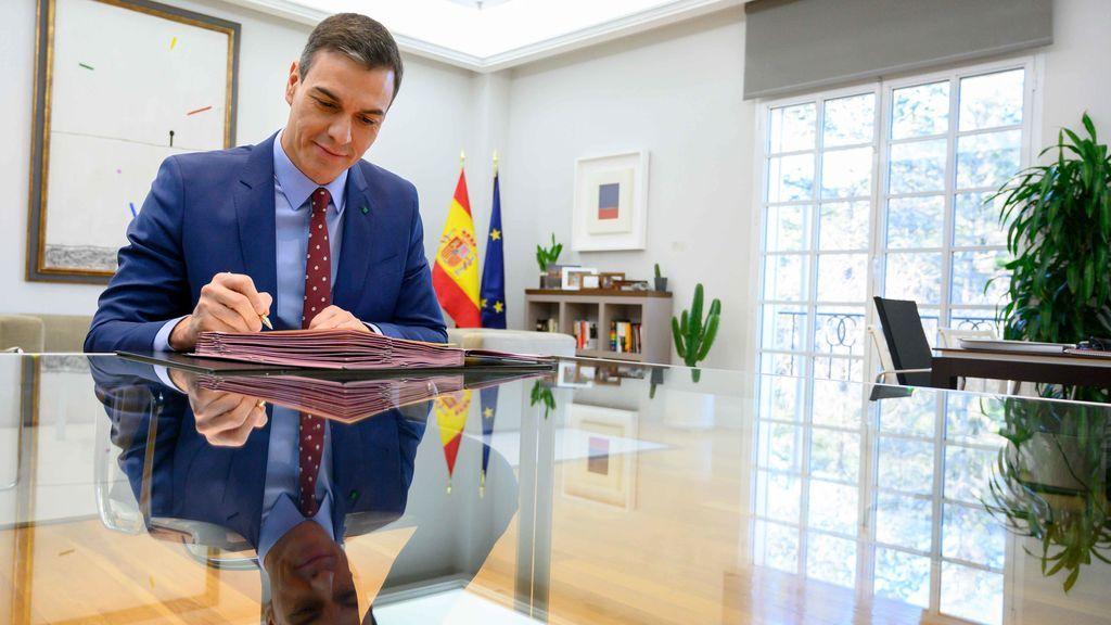 Sánchez firma los nombramientos