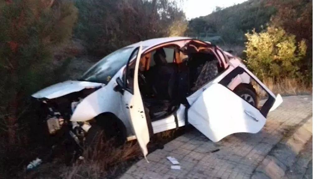 Detenido un menor tras salirse con el coche de una vía en Girona: dio positivo en el control de alcoholemia