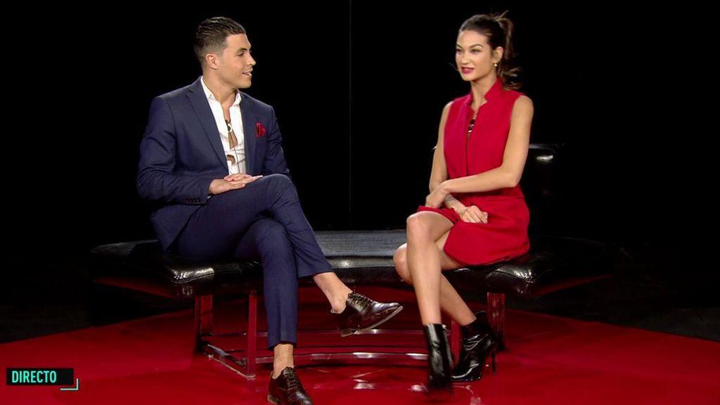 """El tenso reencuentro entre Kiko Jiménez y Estela Grande: """"Tú has sido mi gran decepción"""""""