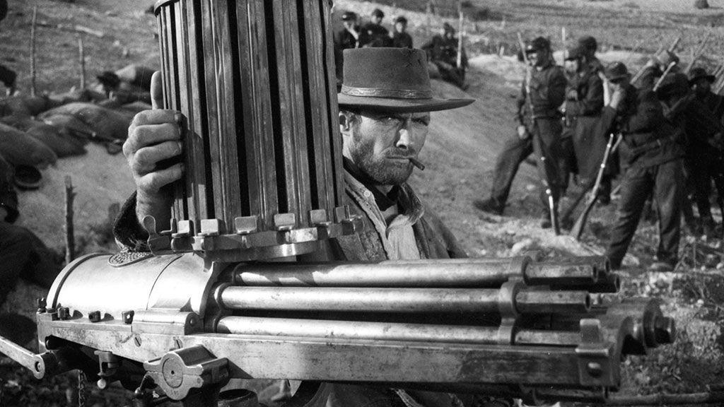 Clint Eastwood en una de las películas de Leone