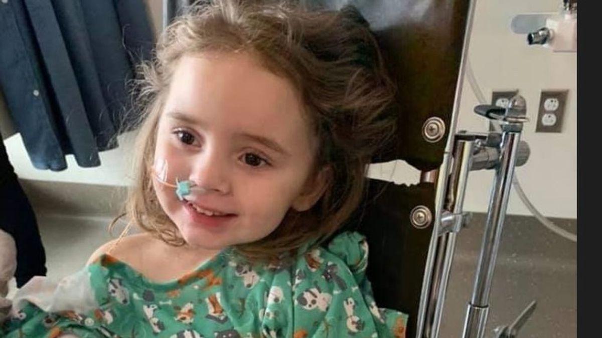 Una niña de cuatro años se queda ciega después de contraer la gripe, de la que no estaba vacunada