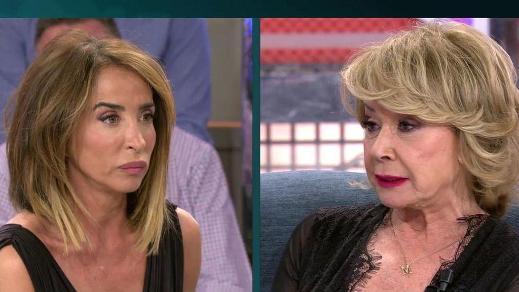 """María Patiño salda cuentas con Mila Ximénez: """"Me utilizaron para ponerme en tu contra"""""""