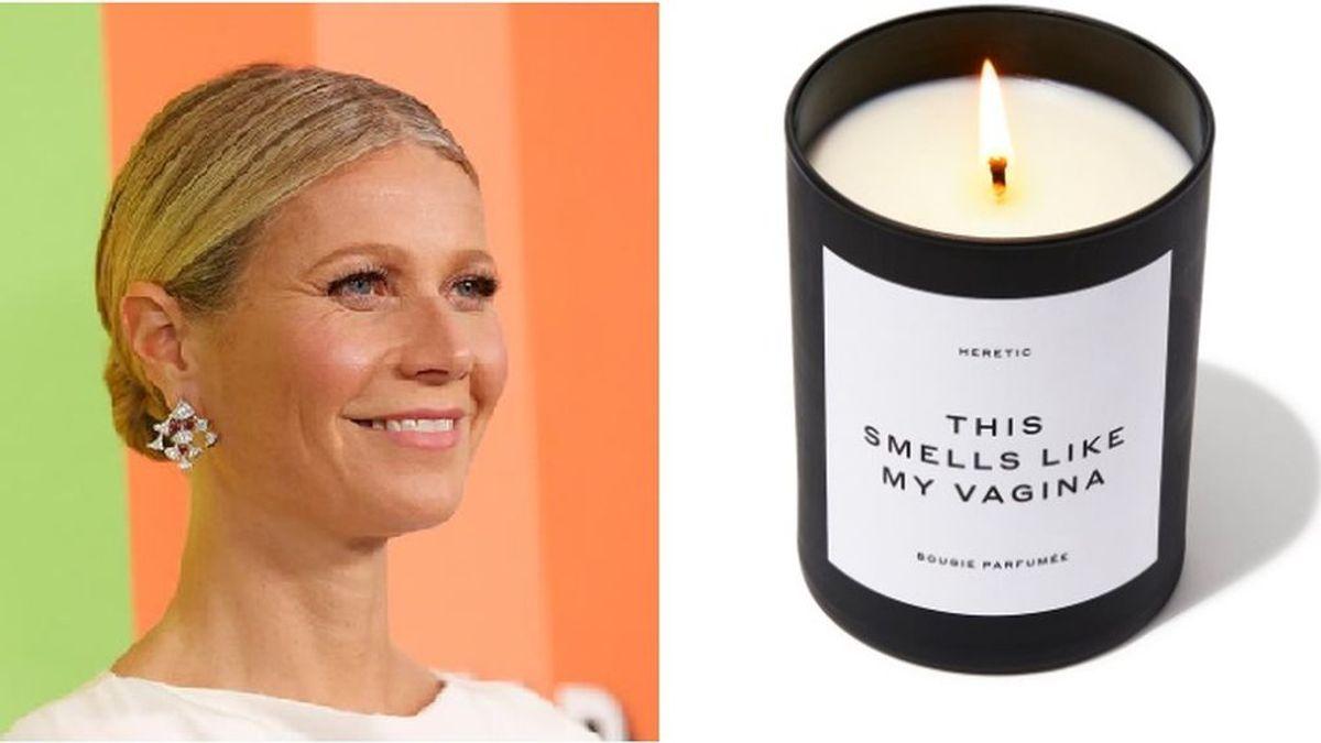 La actriz estadounidense Gwyneth Paltrow vende una vela con 'aroma a su vagina' y agota las existencias