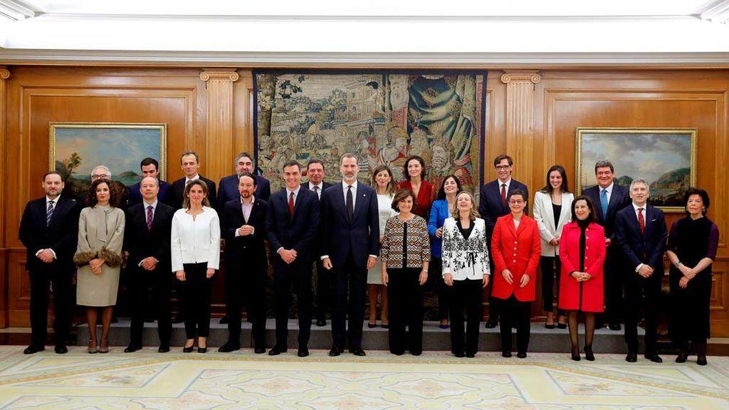 Minuto a minuto del primer día del nuevo Gobierno de Pedro Sánchez y sus 22 ministros