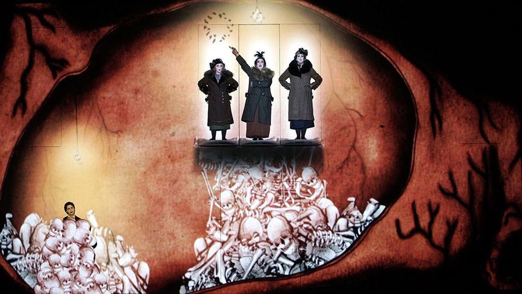 Vuelve al Teatro Real una ópera de película: 'La flauta mágica' de Mozart, en clave de cine mudo