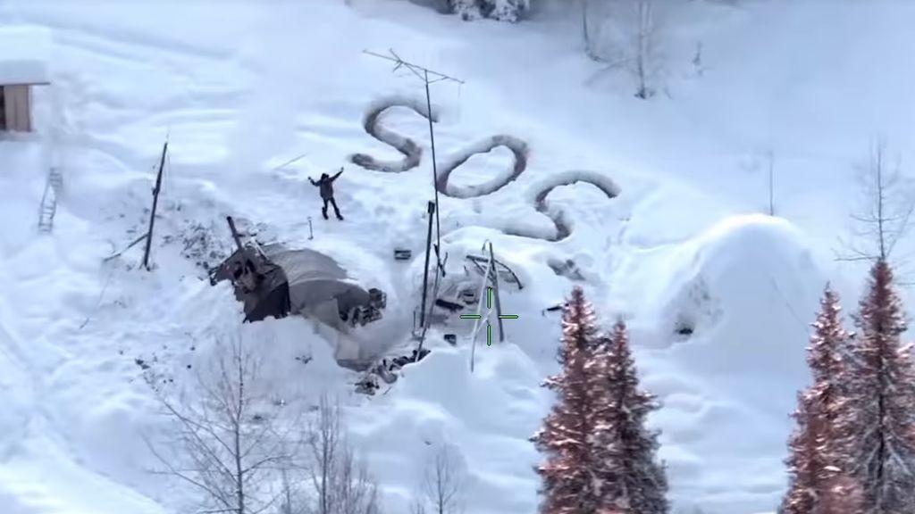 Sos en la nieve: así sobrevivió un hombre tres semanas a temperaturas heladas