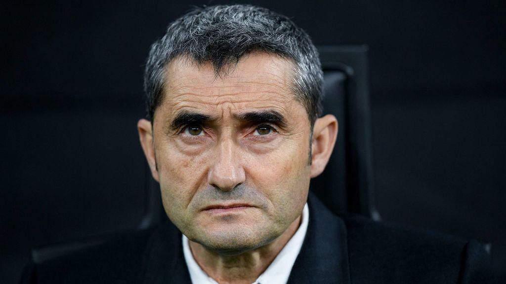 El FC Barcelona ya negocia el finiquito con Ernesto Valverde