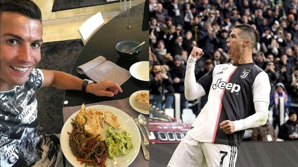 Sale a la luz la dieta de Cristiano Ronaldo: el portugués se echa 5 siestas al día y come y cena dos veces