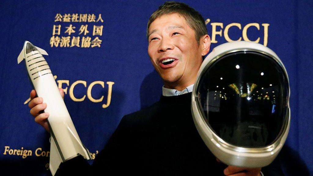Un millonario japonés busca novia para que le acompañe a la Luna
