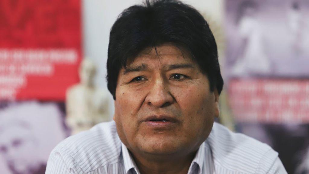 """Morales sugiere la organización de """"milicias armadas en Bolivia como en Venezuela"""""""