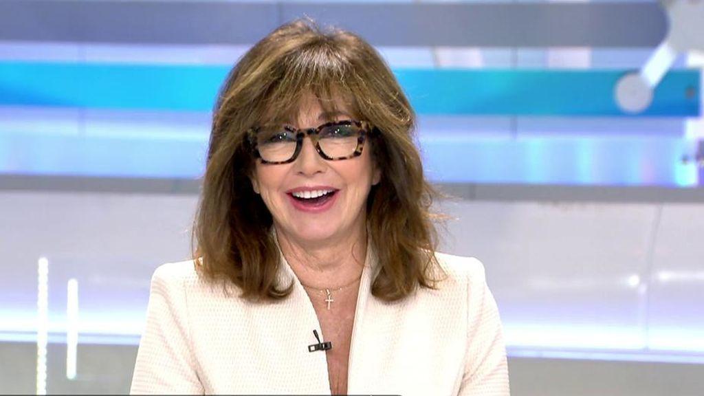 """Ana Rosa felicita a los madridistas por la Supercopa: """"Tuvo que ser por penaltis"""""""