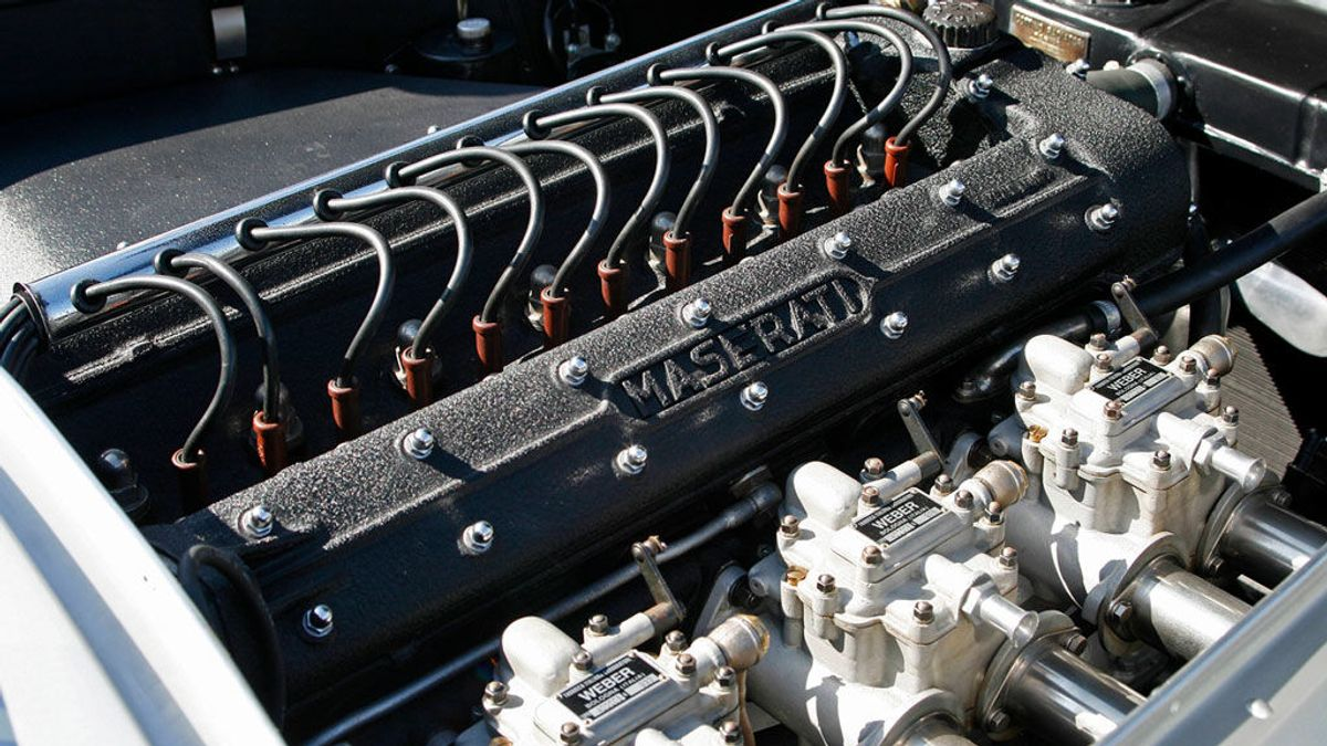 Aumenta las hormonas sexuales y su sonido está patentado: los secretos del motor Maserati
