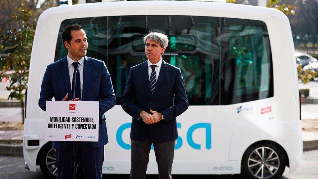 El autobús sin conductor que circulará por el campus de la Universidad Autónoma de Madrid