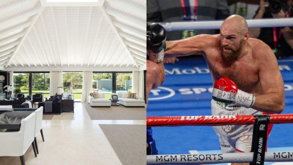 Tyson Fury pone en venta su villa de lujo en Marbella: 14 millones de euros y todo tipo de lujos