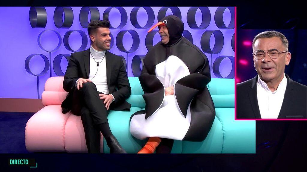 """El 'pingüino' Joao recibe a Pol y a él se le escapa un secreto íntimo: """"A veces se disfrazaba en la cama"""""""