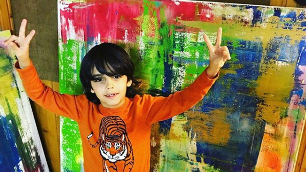 El Picasso de nueve años que vive en Alemania y vende cuadros a 15.000 euros