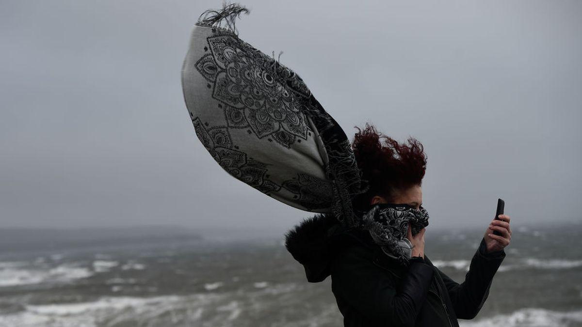 Aviso naranja por viento en el norte: las rachas van a superar los 100 km/hora