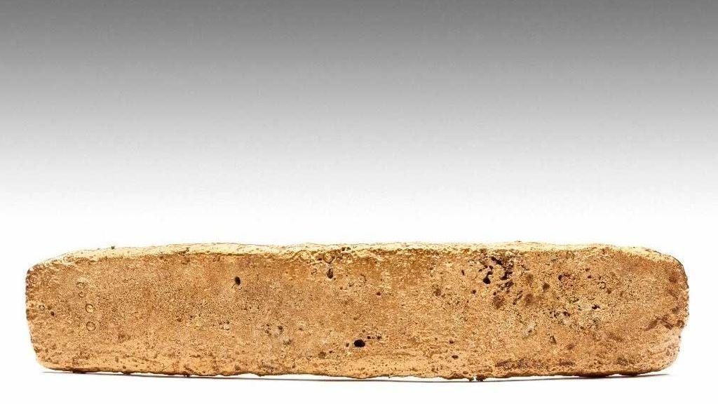 El lingote de oro que las tropas de Hernán Cortes abandonaron en su huida