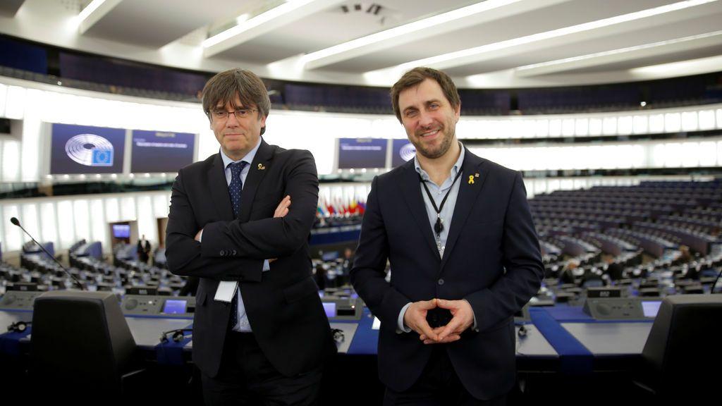 Puigdemont quiere llevar el conflicto de Cataluña a Europa