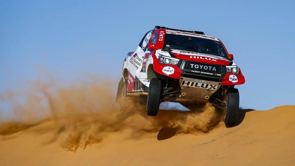 Fernando Alonso consigue su primera victoria de etapa en el Dakar