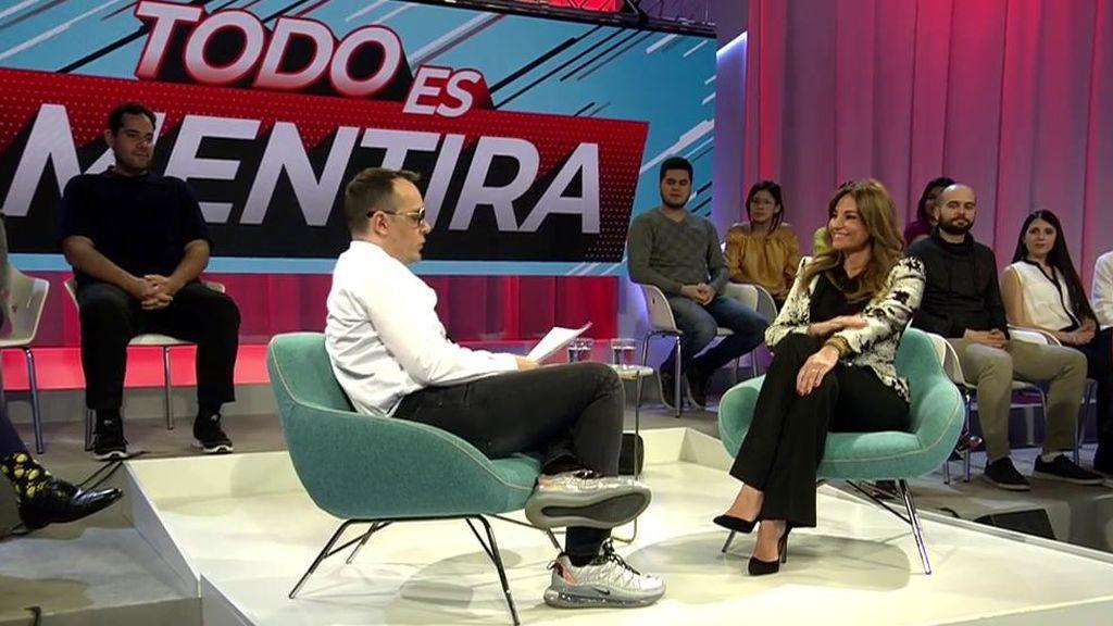 Mariló Montero ha sido muy crítica con Pablo Iglesias