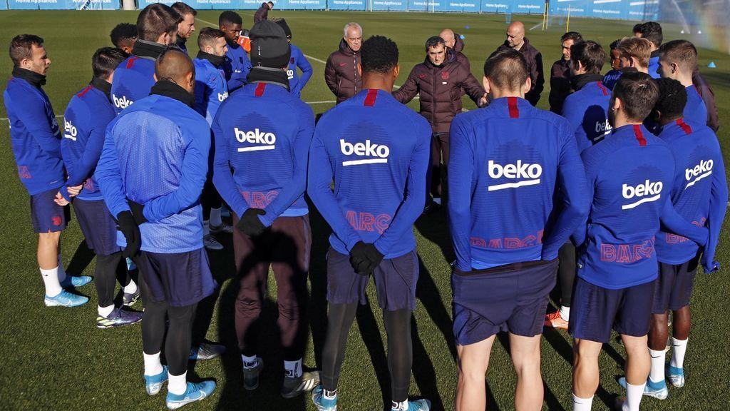 El Barça 'presume' ahora de normalidad con Valverde: las imágenes de su vuelta a los entrenamientos