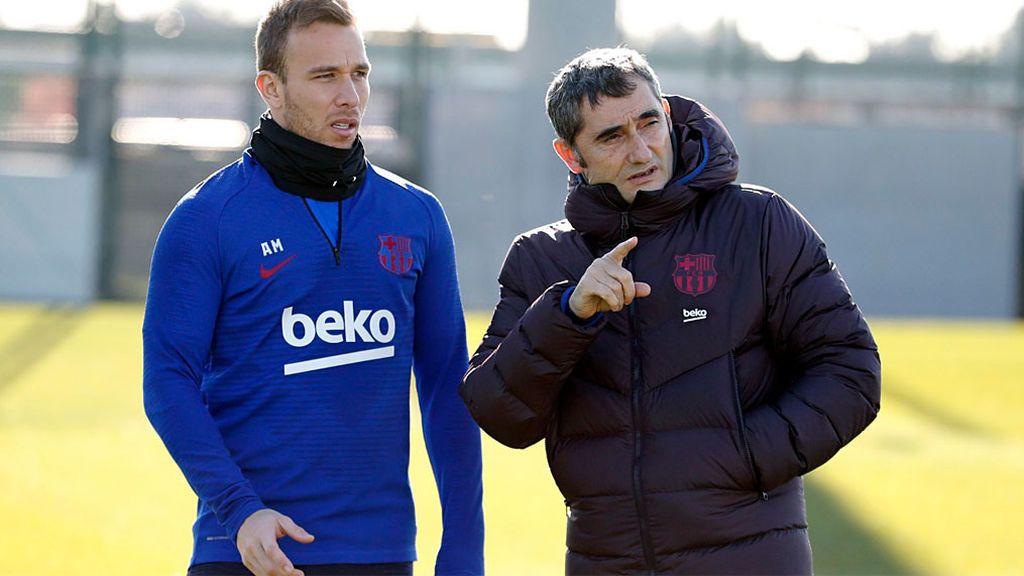 qué piensa Valverde de  su posible salida del Barcelona
