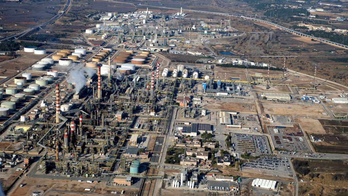 El polígono químico de la explosión en Tarragona es el más grande del sud de Europa