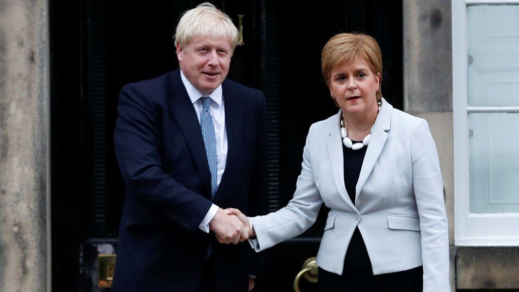 Boris Johnson rechaza la petición de Escocia para un nuevo referéndum