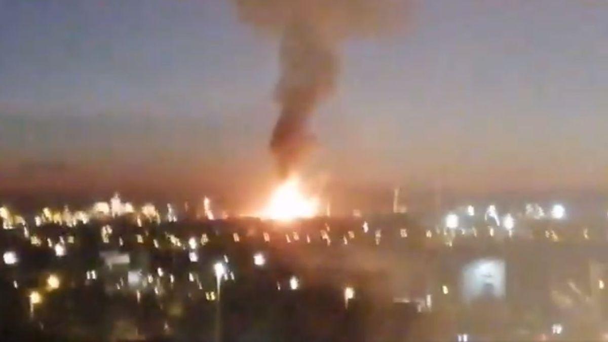 Explosión en una planta petroquímica en Tarragona