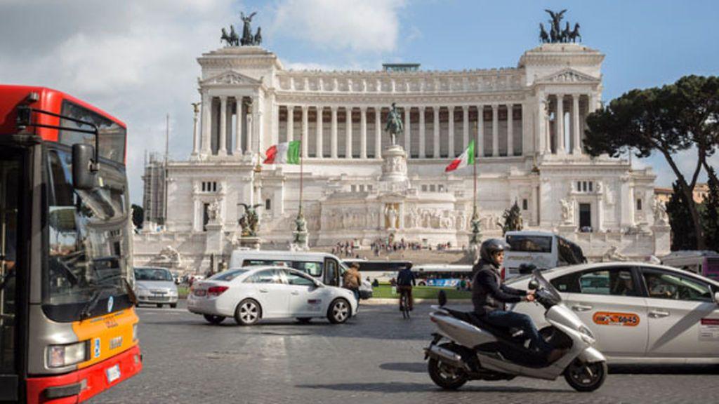 Roma, ciudad cerrada a los coches diésel