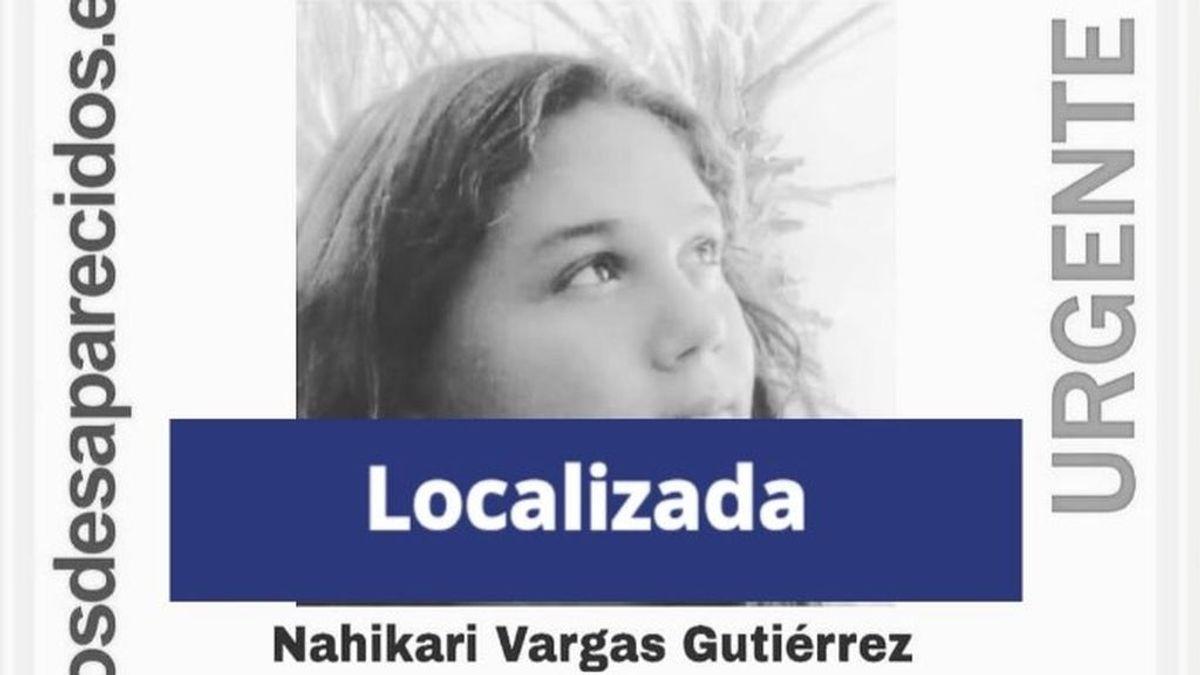 Localizan en buen estado a Nahikari Vargas Gutiérrez, una menor desaparecida desde el día 10 en Málaga