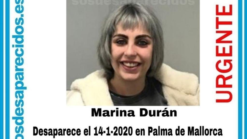 Buscan a Marina Durán Panadés, una joven de 24 años desaparecida desde este martes en Palma
