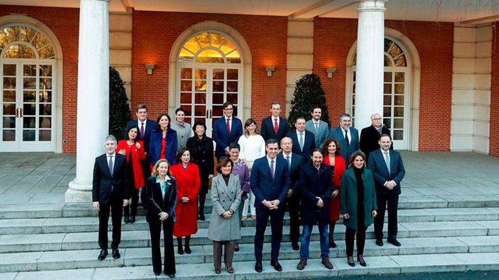 Pablo Iglesias en vaqueros llega a la Moncloa como vicepresidente del Gobierno