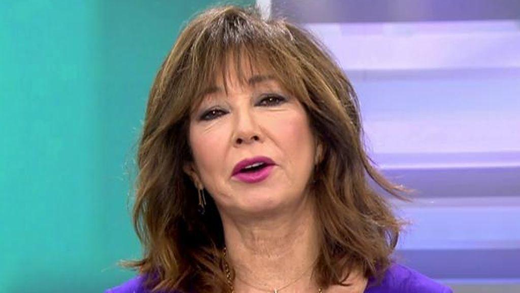"""Ana Rosa sorprende con su 'look': """"Voy de ministrable de Podemos"""""""