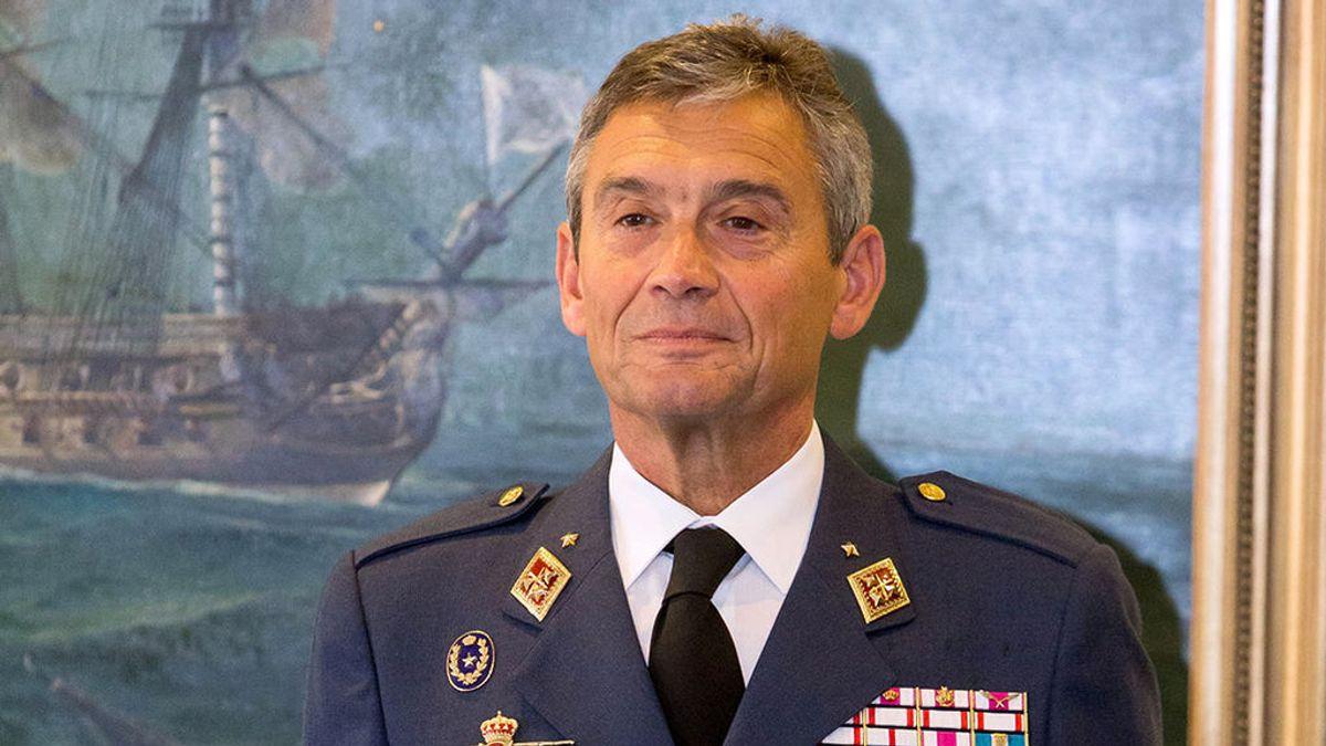 El general Miguel Ángel Villarroya, nuevo jefe de las Fuerzas Armadas