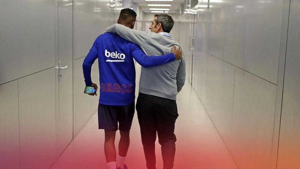 Valverde agradece el cariño de la afición y desea suerte a Setién en una carta de despedida del Barça