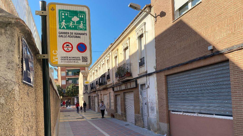 Valencia crea una calle diseñada para que los niños vuelvan a jugar en el barrio