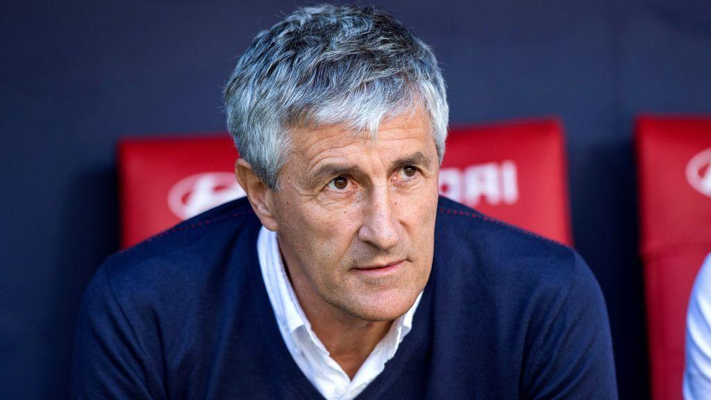 Sigue en directo la presentación de Quique Setién como entrenador del Barça a las 14.30 horas