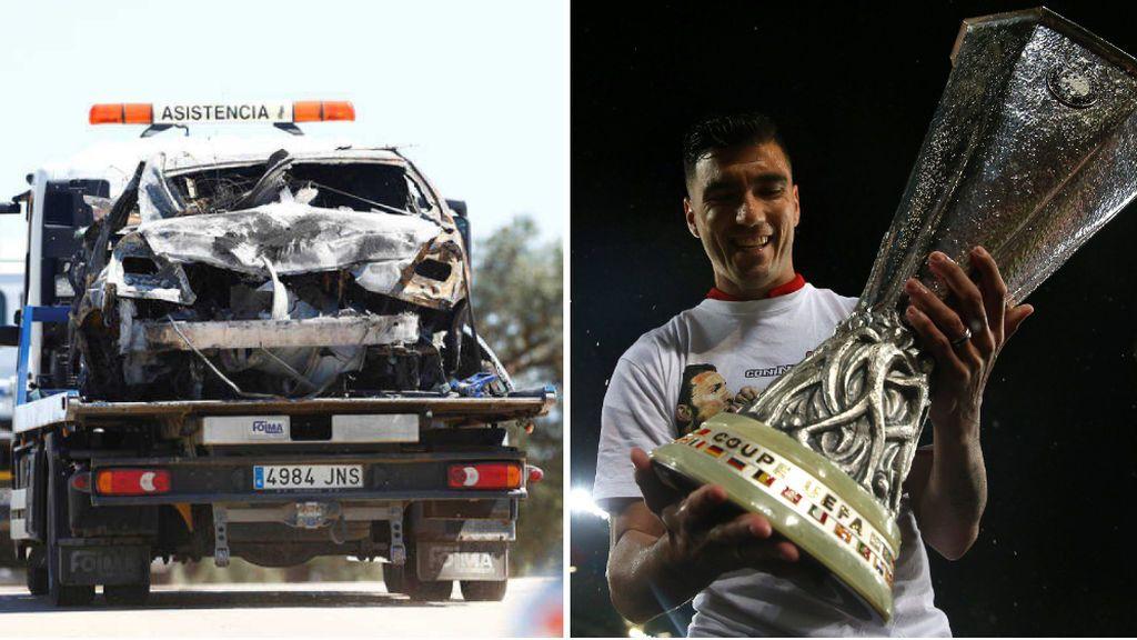El último informe pericial del accidente de José Antonio Reyes: un segundo, clave en el incendio del automóvil