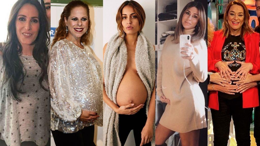 Generación del 2020: todos los famosos que traen querubín este año redondo