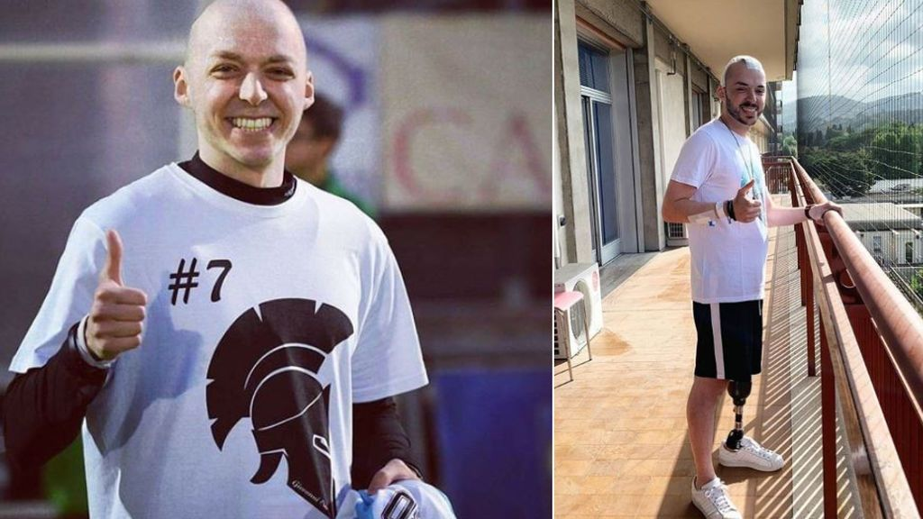 Fallece Giovanni Custodero, el futbolista enfermo de cáncer que se despidió antes de que le sedaran