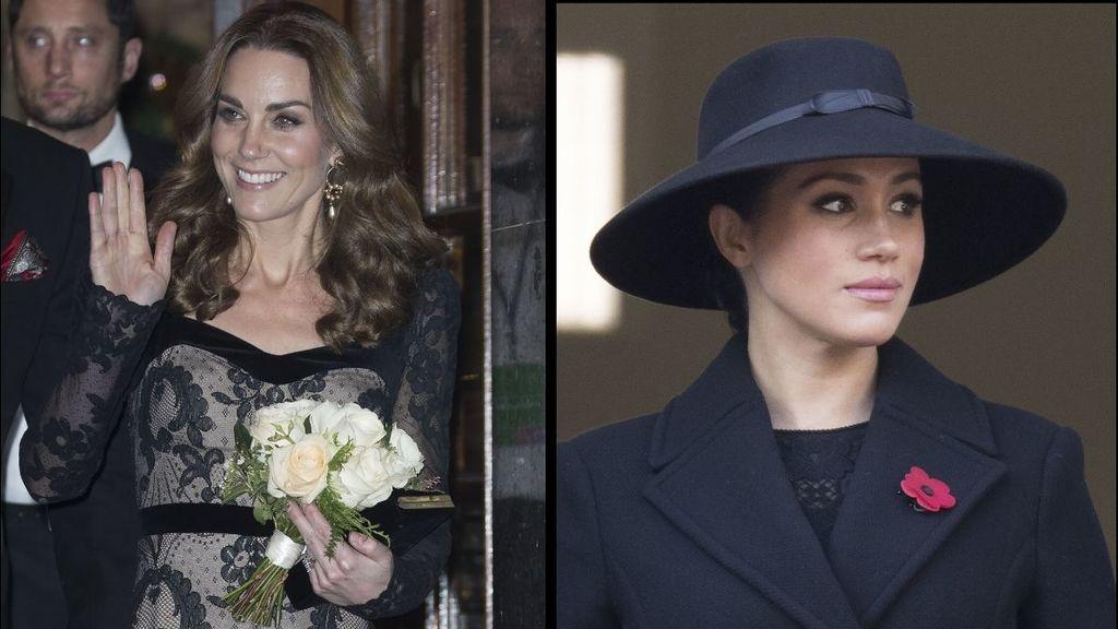 Kate y Meghan ante el espejo de los medios: por qué no las trataron nunca igual