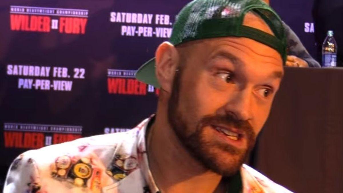 Tyson Fury se masturba siete veces al día para preparar su combate contra Deontay Wilder