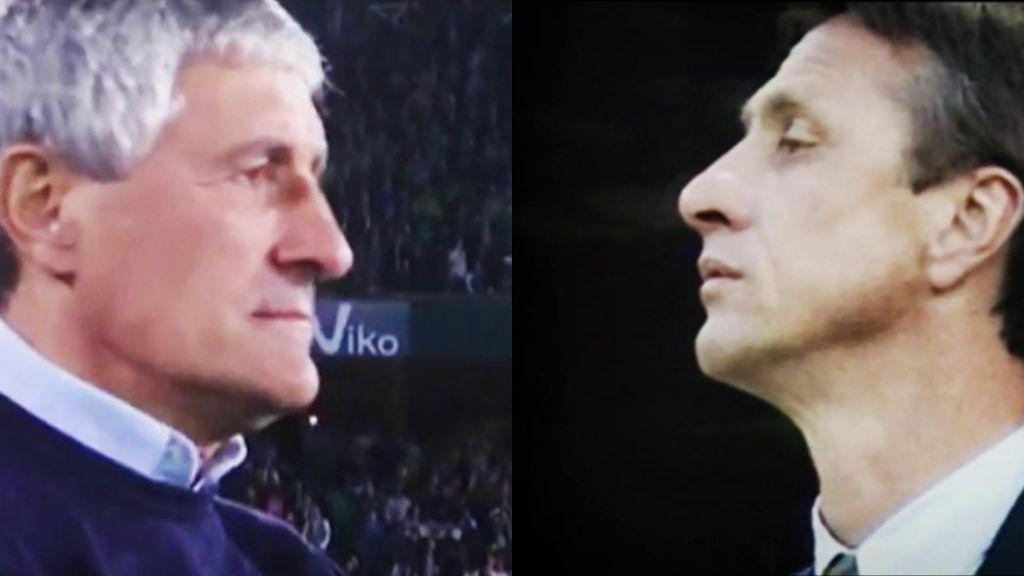 Quique Setién, la reencarnación de Cruyff